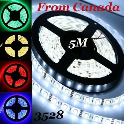 5M 3528 Flexible Led Strip SMD 3528 Single color & RGB 5M /16.4ft, Lights tape