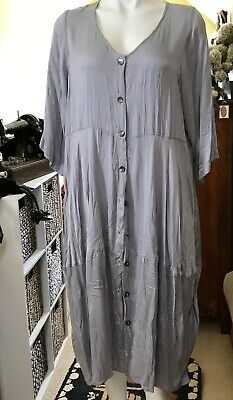 Victor Alexandre designed ,soft grey SILK Dress