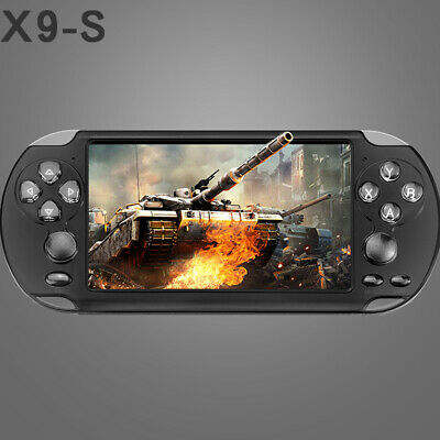 X9-S Portable Handheld Video Game Console 128 Bit Built-In 10000 Game Kid Player