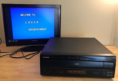 PIONEER CLD-M301 5 CD Changer Laser Disc Player
