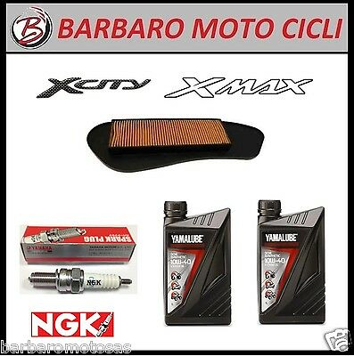 Inspection Set Yamaha X-City X-Max 250 (Oil Yamalube+Air Filter+ Candle)
