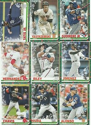 2019 Topps Holiday Baseball ( 1-200) U-Pick Complete Your Set Alsono , Guerrero