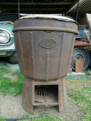 Collectable Metters Chef Washing Machine Copper Boiler Vintage Retro Used