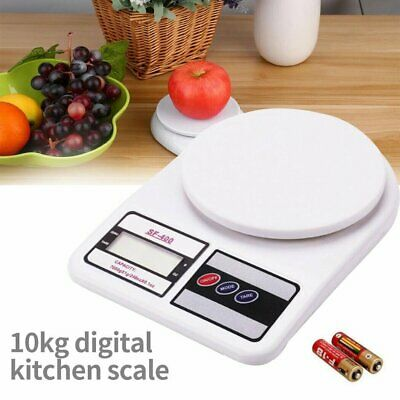 10kg /1g LCD Electronic Digital Kitchen Weighing Household Scale Food Cooking AU