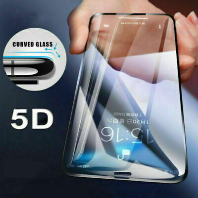 For Samsung A10/A20/A40/A50/A70  5D Full Cover Tempered Glass Screen Protector