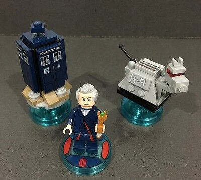 Lego Dimensions Doctor Who Dr Who Level Pack 71204 Complete