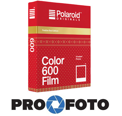 POLAROID COLOR FILM 600 FESTIVE RED for 600 , OneStep , I-Type