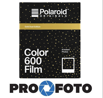 POLAROID COLOR FILM 600 GOLD DUST for 600 , OneStep , I-Type