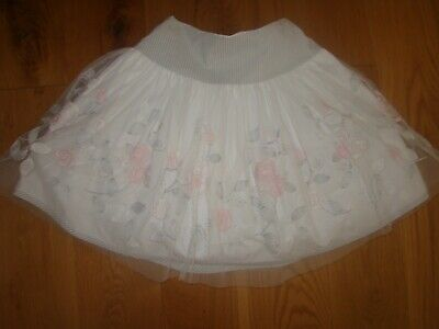 🎄DESIGNER MONNALISA CHIC GORGEOUS PARTY TULLE SKIRT AGE 8-9 Christmas Outfit