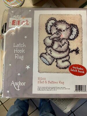 Elliot & Buttons Rug Latch Hook Kit
