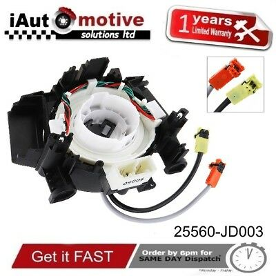 Airbag Reloj Muelle Buscapiés Cable Espiral For Nissan Qashqai Pathfinder Murano