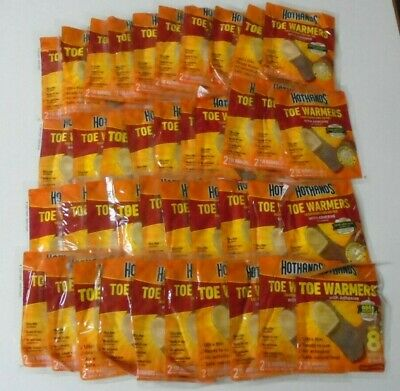 HotHands Toe Warmers 40 Pair (80 Individual) w/Adhesive BRAND NEW