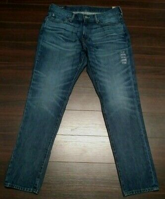 Women's Abercrombie & Fitch Jeans/ Authentic Rustic Skinny, Med.blue,Sz 32X30