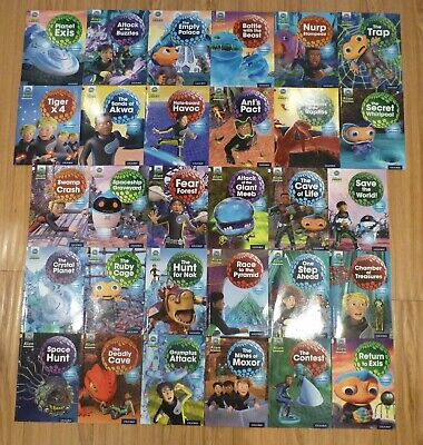"Project X ""Planet Exis"" Oxford reading (30 books for age 6-7)"