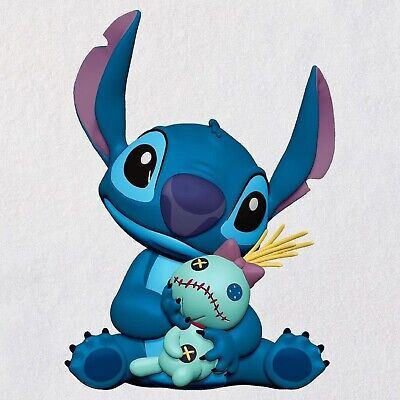 2019 Hallmark Ornament Disney Stitch and Scrump Lilo and Stitch