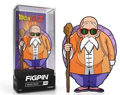 FiGPiN Dragon Ball Z Master Roshi Enamel Pin - EE Exclusive In Stock