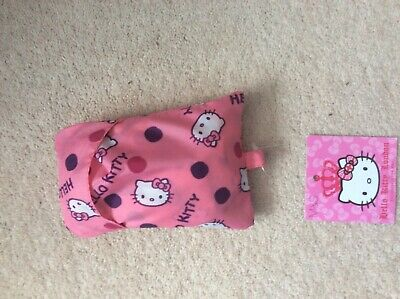 Marks and Spencer Fold up Hello Kitty Shopping Bag New with Tags