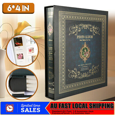 500 Pages Photo Album Memo Book Scrapbook Valentines Day Family Wedding Gift AU