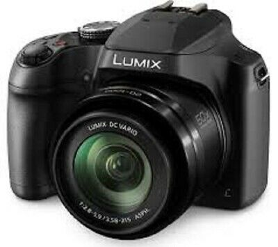 PANASONIC Lumix DC-FZ82EB-K Bridge Camera - Black