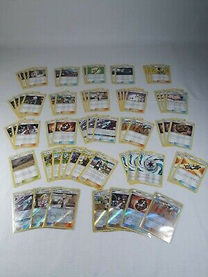 Lot of 62 Pokemon Cosmic Eclipse Trainer Cards New Pack Fresh NM Mint