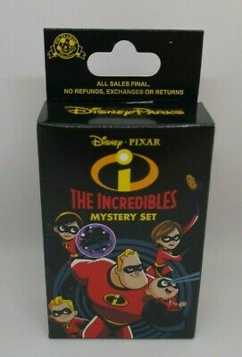The Incredibles Mystery Box Disney Pixar 2019 New Sealed 2 Pins