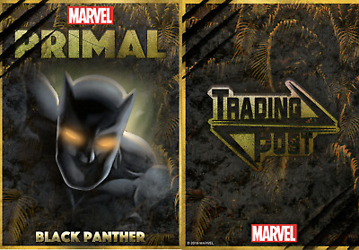 TOPPS MARVEL COLLECT CARD TRADER Black Panther Primal Trading Post Award