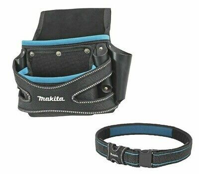 Makita LEATHER FI-ING POUCH WITH Q/R BELT TTKIT382 Quick Release Buckle