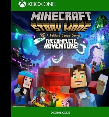 MINECRAFT Story Mode Complete XBOX ONE digital code key Download