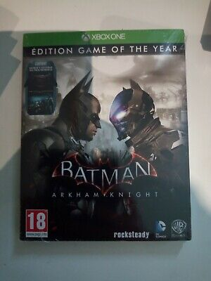 batman arkham knight edition game of the year goty xbox one neuf sous blister