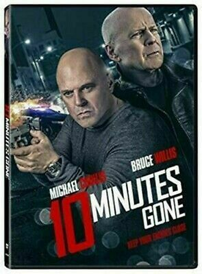10 Minutes Gone (DVD 2019) Brand New -Action/Thriller/Mystery/Crime!