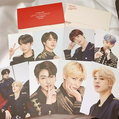 【OFFICIAL MD】BTS SYS LoveYourSelf FINAL in Seoul MERCHANDAISE〈PHOTO SET〉