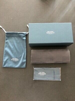 OLIVER PEOPLES Cary Grant Eyeglasses Sunglasses Case Limited Edition