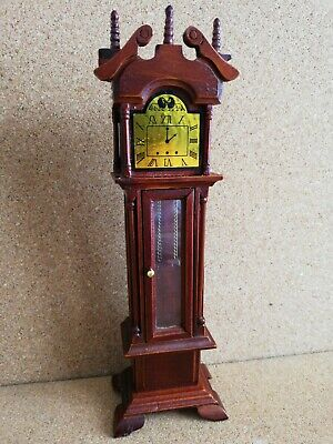 Grandfather Clock 18cm tall for 1/12 scale doll house