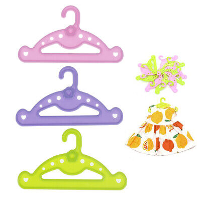 5pcs Hangers doll clothes accessories hanger fit 18 inch doll &43cm  dollTWRDRK