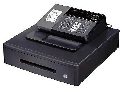 Casio SE-S10-MD Electronic Cash Register With Box Of Till Rolls And Free P&P