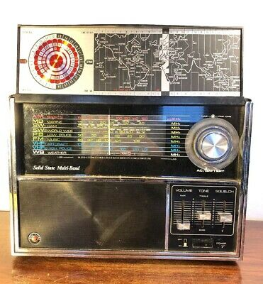Vintage Prominent Solid State Deluxe Multi Band Radio Japan Works