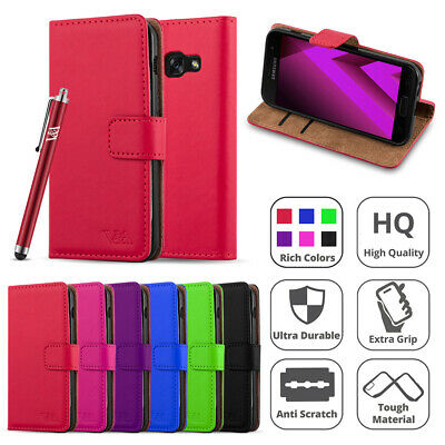 Phone Case for Samsung Galaxy A5 A3 2017 2016 Magnetic Flip Leather Wallet Cover