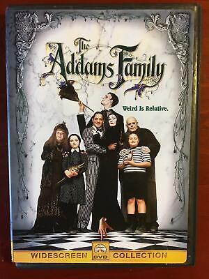 The Addams Family (DVD, 1991, widescreen) - F1020