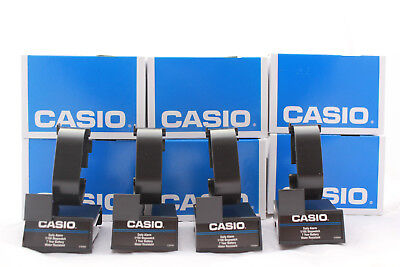 Lot 25x CASIO Plastic Wrist Watch Display Stand W/ Box Holder Rack Show Store