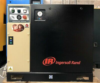 Ingersoll-Rand UP5-5.5TAS-8 Floor Mounted Rotary Screw Compressor + Dryer! 29Cfm