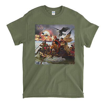 Stand With Donald Trump Crossing The Delaware 2020 Election T-Shirt