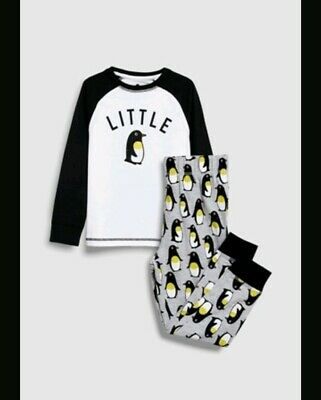 Bnwt Age 4years LITTLE PENGUIN Christmas Pjs From Next
