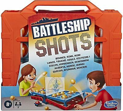 Battleship Shots Classic with Twist Kids Family Game Toy Christmas Gift Hasbro