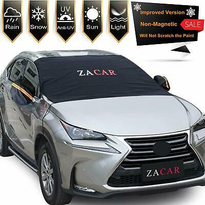 Zacar Windshield & Mirror Snow Ice Cover (Car & SUV) The Best Christmas Gift New