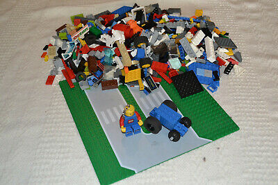 1KG LEGO CREATIVITY PACK BULK LOT - Mixed parts incl. 'Pull Back' Motor + Torch!