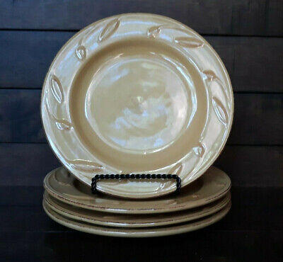"""Signature /""""Sorrento Gold-Wheat-Yellow/"""" Dinner Plate 11 3//8 Inch"""