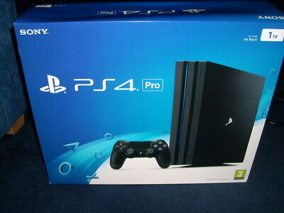 SONY PlayStation PS4 Pro 1TB With PS+ Account 100+ games - Read For Details.