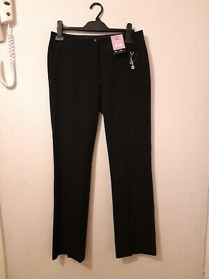 Girls black school trousers age 14