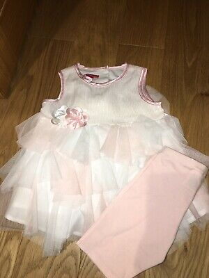 Kate Mack Age 4 Outfit Frill Sequin Detail 2 Piece New