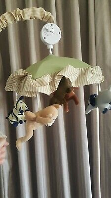 Animal Musical Mobile For Baby Cot